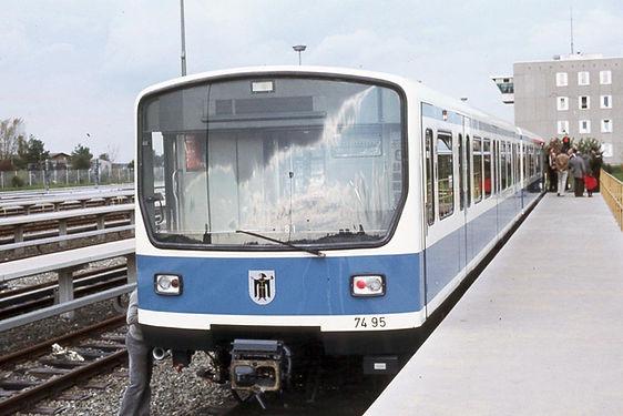 Vorstellung U-Bahn Basis Fröttmaning B-Wagen TW7495
