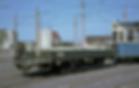 Die modernsten Transportwagen entstanden erst 1965 aus ehemaligen Postbeiwagen  tram München