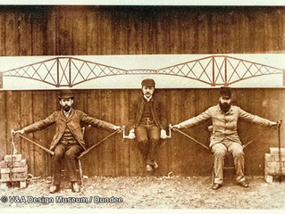 Railway Forth Bridge of Scotland