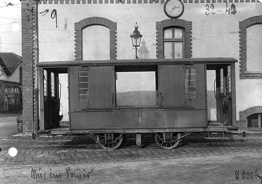 Salzwagen  Typ: s 1.52 münchen tram