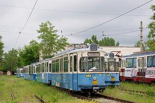Zweite Heimat für die alten Münchner Bahnen: Ab 1994 fahren ausgediente Züge in Rumänien münchen tram craiova
