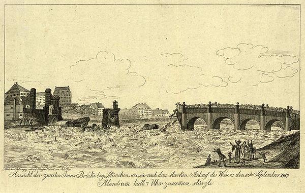 1813 Ludwigsbrücke Einsturz DE-1992-HV-B
