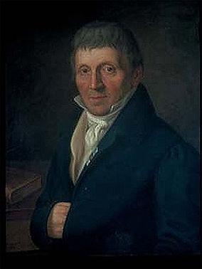 Pionier der Eisenbahn: Joseph von Baader (1763–1835). Porträt von Gustav Nehrlich, 1831 trambahn tram FMTM