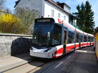 Trambahn in Gmunden/Österreich