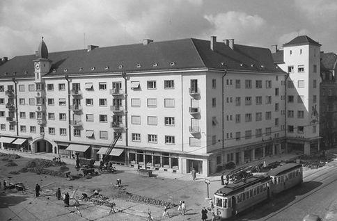 1937 Kurfürstenplatz trambahn tram FMTM München