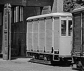 Postwagen  Typ: p 2.48 münchen tram