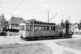 Turmwagen  Typ: A 2.22 Betriebsnummer: 249 münchen Tram