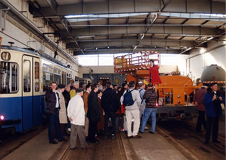 2. Öffnungstag Bahnhof 3 am 27.02.2000 tram münchen fmtm