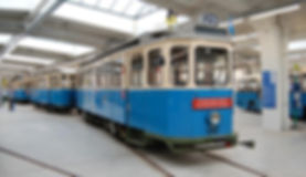 D Wagen 490 betriebsbereit im MVG Museum München tram typ