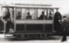 1881 entwickelte Siemens daraus die erste elektrische Straßenbahn in Groß-Lichterfelde tram münchen