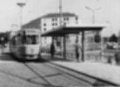 Neue Schleife Ramersdorf 1960 münchen tram trambahn