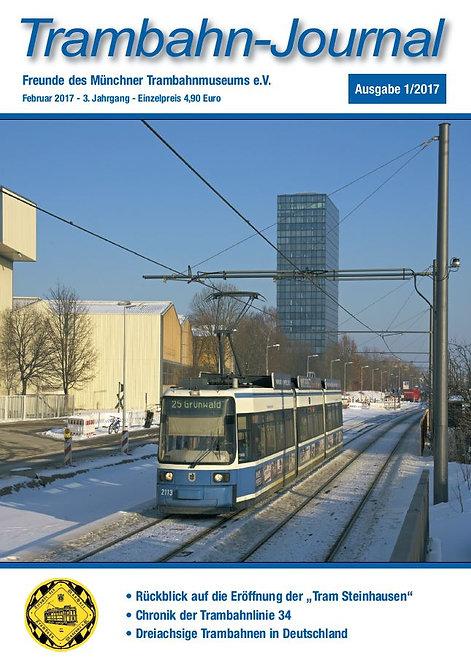 Trambahn-Journal    Ausgabe  1 | 2017