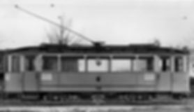 Typ L Wagen Nr. 748 mit 3-achsigem Versuchsdrehgestell münchen tram