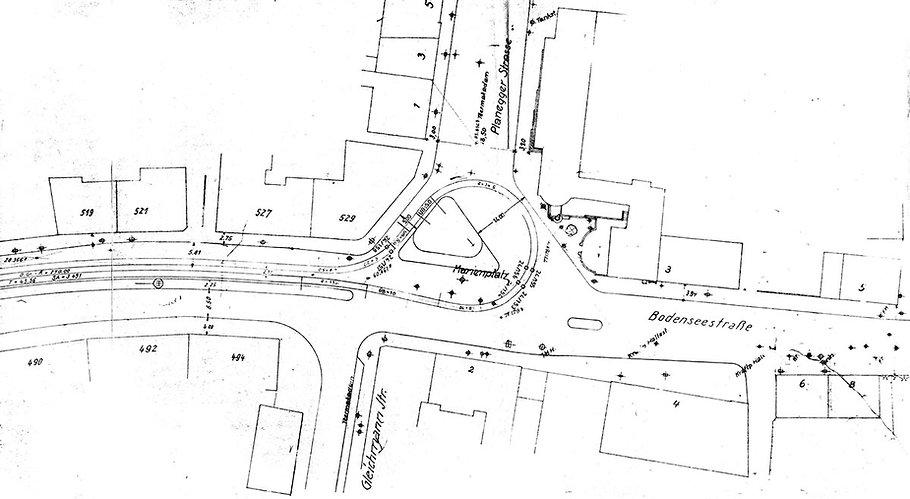 Streckenplan 24 Pasing Marienplatz alt .