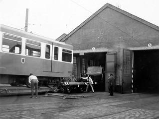 Münchens erster U-Bahn-Wagen 1967