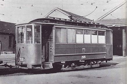 Werkstattwagen Prüffeldwagen  Typ: u 2.27 Betriebsnummer: 2926 münchen tram