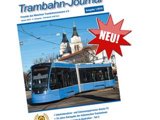 Trambahn-Journal 1/2019 erscheint!