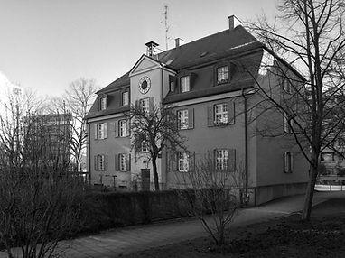Walmdachhaus ehemaliger Betriebshof Soxhletstraße trambahn Tram München
