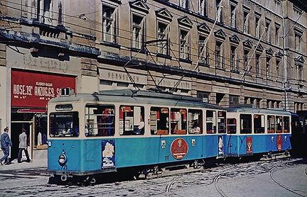 721 TRIEBWAGEN TYP J 1.30 münchen Tram