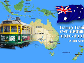 Trams & Trains over Australia