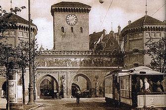 1904 nach)  Lehel)  Isartorplatz  (0001.
