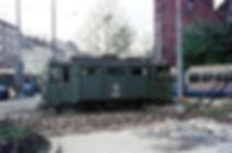 Schienenschleifwagen 2902 am Sendlinger Tor Platz München tram