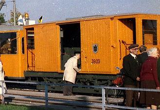 Salzwagen  Typ: s 3.50 Betriebsnummer 2909