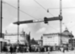 1951 Stachus Baustelle kaufhof DE-1992-F