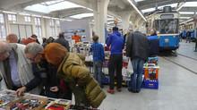 Heute war Modellbahn-Markt im MVG-Museum