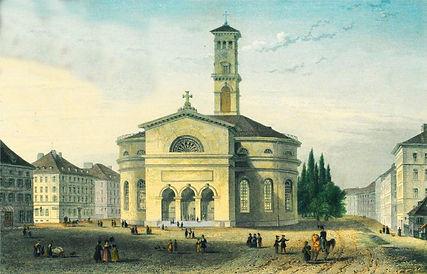 1838_Mathäuskirche München Sonnerstraße stachus karlsplatz FMTM München