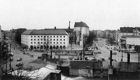 Neuhausen)  Rotkreuzplatz  (1952 - 02)