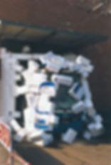 Durchbruch für die moderne Tram: Präsentation des ersten Serien-R-Wagens 2101 am 11.10.1994 münchen tram