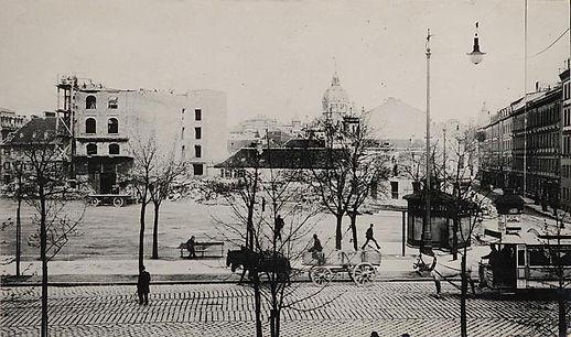1898 Isartorplatz Pferdetrambahn Stadtar