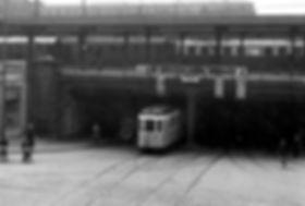 D-Tw 474 in der Paul-Heyse-Unterführung 1.6.1933 tram münchen