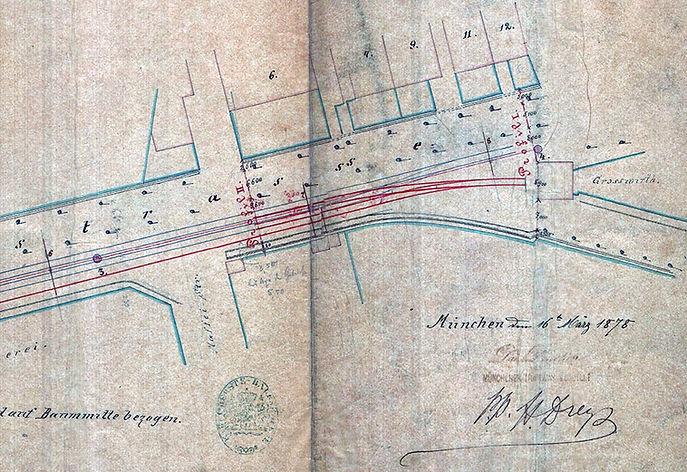 1878-03-16_Planung_Verlängerung_Pferdet