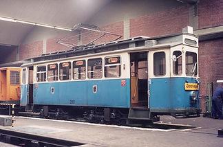 Bahnhofswagen Typ G 1.8 Betriebsnummer 2961 München Tram