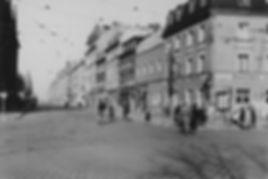 12-11-1938_Kurfürstenplatz münchen Tram trambahn FMTM Belgradstraße