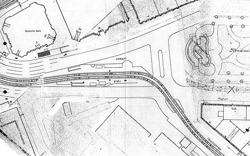 1996  Streckenplan Gleisplan FMTM München Lenbachplatz Knoten heute.jpg