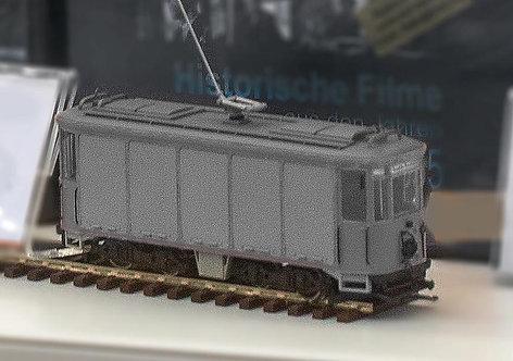 Münchner Post-Trambahn Spur H0 | grau 1944 - 1951  -motorisiert-