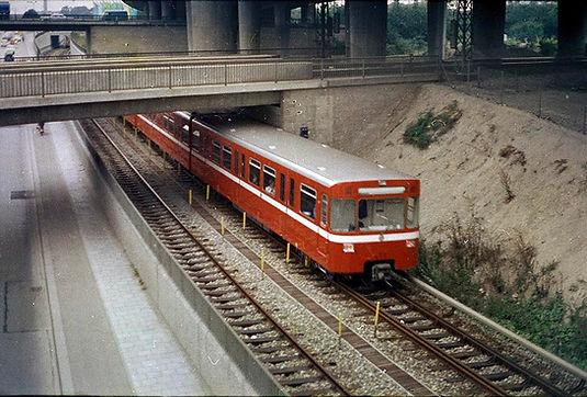 Für den verstärkten Betrieb wurden von der VAG aus Nürnberg vier DT1-Züge ausgeliehen