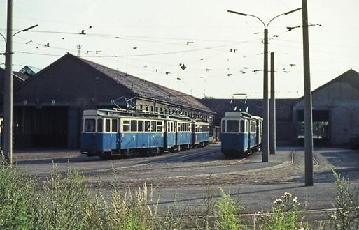Depot 4 an der Soxhletstrasse 1970