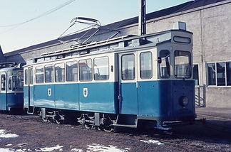 Bahnhofswagen Typ G 1.8 Betriebsnummer 2977 tram münchen