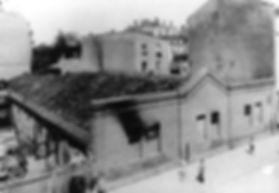 Im Jahr 1910 brannte die Beiwagenhalle an der Nymphenburger Strasse ab München Tram trambahn fmtm