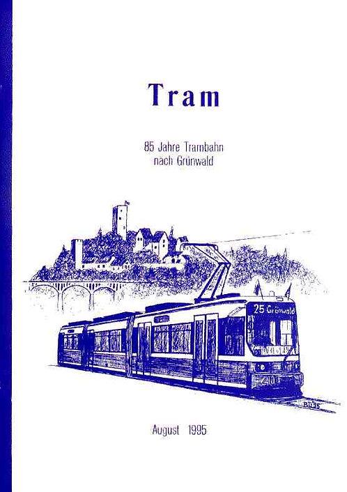 Trambahn-Schriftreihe #8: Grünwald
