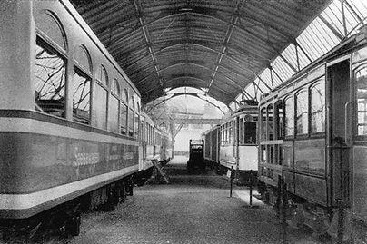 1925 DVA Halle VIII Strassenbahnen.jpg