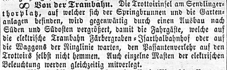 Allgemeine Zeitung 19.10.1896 Sendlinger