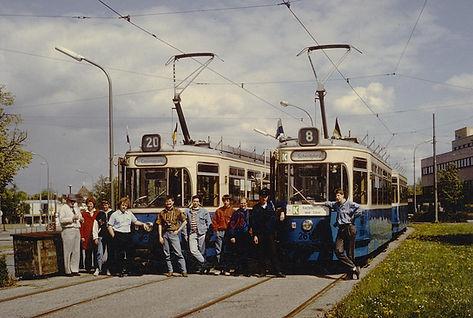 Der Verein veranstaltet nun regelmäßig Sonderfahrten und beteiligt sich auch mit Souvenirverkauf bei Stadtteilfesten, U-Bahneröffnungen und Jubiläen tram münchen fmtm