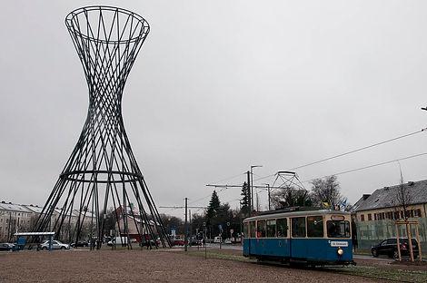 Am 10. Dezember2011Effnerplatz nach St. Emmerammünchen tram fmtm