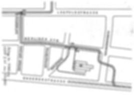 Umleitung Ungererstrasse U-Bahn-Bau Tram Trambahn Plan Gleisplan Berlinerstraße