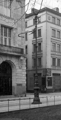 1908 Fahrdrahtmast Promenadeplatz DE-199